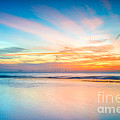 Seascape Sunset by Adrian Evans