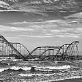 Seaside Heights - Jet Star Roller Coaster by Niday Picture Library