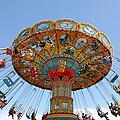 Seaswings At Santa Cruz Beach Boardwalk California 5D23901 Print by Wingsdomain Art and Photography