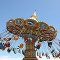 Seaswings At Santa Cruz Beach Boardwalk California 5d23905 by Wingsdomain Art and Photography