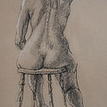 Seated Figure by Sarah Parks