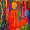 Seated Monk by Nirdesha Munasinghe