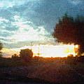 Second Sunset by Pharris Art