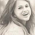 Selena Gomez by Kendra Tharaldsen-Franklin