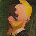 Self Portrait by Edouard Vuillard