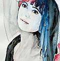 Self Portrait  Print by Ismeta Gruenwald
