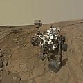 Self-portrait Of Curiosity Rover by Stocktrek Images