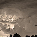 Sepia Light Show by James BO  Insogna
