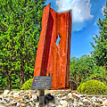 September 11th Memorial Mantua N J Print by Nick Zelinsky