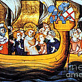 Seventh Crusade 13th Century by Photo Researchers