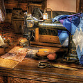 Sewing Machine  - Sewing Machine III Print by Mike Savad