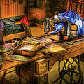 Sewing Machine  - Sewing Machine Iv by Mike Savad
