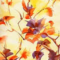 Shadow Leaves by Summer Celeste