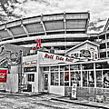 Shadow Of The Stadium by Scott Pellegrin