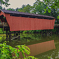 Shaeffer Or Campbell Covered Bridge by Jack R Perry