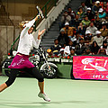 Sharapova at Qatar Open Print by Paul Cowan