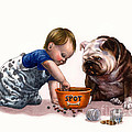 Sharing Food by Isabella Kung