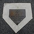 Shea Stadium Home Plate by Rob Hans
