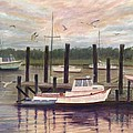 Shem Creek by Ben Kiger