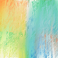 Sherbet Abstract by Andee Design