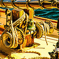 Ships Bell Sailboat by Bob Orsillo