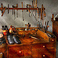 Shoemaker - The Cobblers Shop by Mike Savad