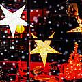 Shop Window On Christmas Eve by Terril Heilman