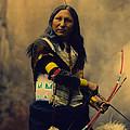 Shout At Oglala Sioux  Print by Heyn Photo