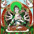 Shri Ashtabhuja Mata Print by Ashok Kumar