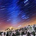Shuksan Star Trails by Alexis Birkill