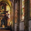 Side Chapel Of St Barbara by Joan Carroll