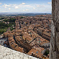 Siena From Above by Al Hurley