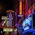 Signs Of Music Row Nashville by John McGraw