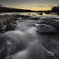 Silky River by Davorin Mance