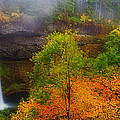 Silver Falls Pano by Darren  White
