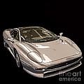 Silver Sports Car by Edward Fielding