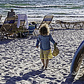 Simpler Times 2 - Miami Beach - Florida Print by Madeline Ellis