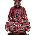Sitting Buddha  by Olivier Le Queinec