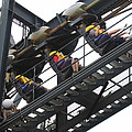 Six Flags Great Adventure - Medusa Roller Coaster - 12123 by DC Photographer