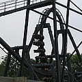 Six Flags Great Adventure - Medusa Roller Coaster - 12124 by DC Photographer