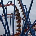 Six Flags Great Adventure - Medusa Roller Coaster - 12125 by DC Photographer