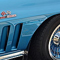 Sixty Six Corvette Roadster by Frozen in Time Fine Art Photography