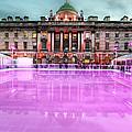 Skating At Somerset House by Jasna Buncic