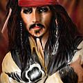 Sketching A Pirate... by Alessandro Della Pietra