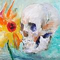 Skull And Sunflower by Fabrizio Cassetta