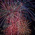 Sky Full Of Fireworks by Garry Gay