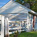 Slave Huts On Southern Farm by Brian Jannsen