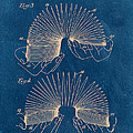 Slinky Toy Blueprint by Edward Fielding