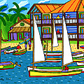 Small Boat Regatta - Cedar Key by Mike Segal