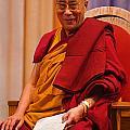 Smiling Dalai Lama by Craig Lovell
